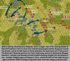 Camp Dearborn Map The Saratoga Campaign Of The American Revolution U2013 Part Five