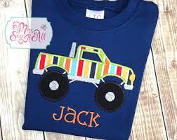 monster truck shirt etsy
