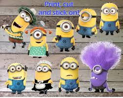 Designs Minion Party Wall Decor Also Minion Wall Art To her