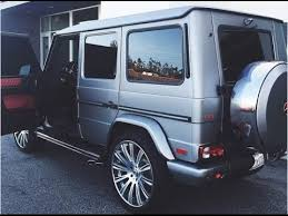 kris jenner mercedes suv jenner fully customizes mercedes g63