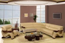 Beige Sectional Sofa Modern Line Furniture Commercial Furniture Custom Made