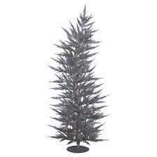 3 pre lit led pine artificial tree with white lights