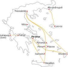 porti atene traghetti per le isole greche