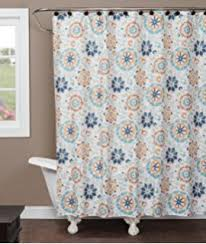 Fieldcrest Luxury Shower Curtain - amazon com fieldcrest shower curtain white wild honey oxford