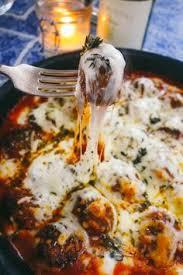 Easy Italian Dinner Party Recipes - italian baked meatballs quorn food and recipes