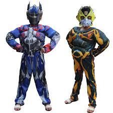 Bumblebee Transformer Halloween Costume Costumes Bumblebee Promotion Shop Promotional Costumes