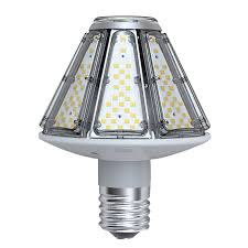 led l post bulbs post top led 50 watt corn cob e39 mogul base 7500 lumens lumegen