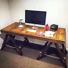 Wood Computer Desk For Home Solid Wood Computer Desk Plans Wooden Desk With File Cabinet Wood