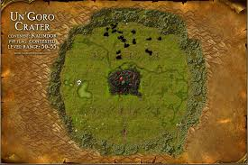 map quests un goro crater map with locations npcs and quests of warcraft