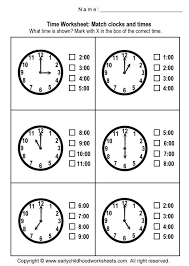 printable telling time worksheets worksheets