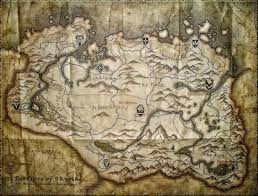 Map Of Skyrim Skyrim Map Over 25 Different Maps Of Skyrim To Map Out Your