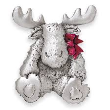 pewter christmas moose pin best selling gifts clothing