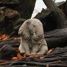 elephants garden statues ornaments ebay