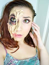 special effects makeup melted sfx makeup tutorial wickes