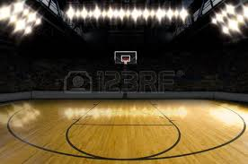 Basketball Courts With Lights Basketball Court Stock Photos Royalty Free Basketball Court