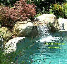 Maryland waterfalls images Maryland custom inground swimming pools pool installation md jpg