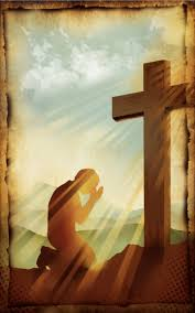 kneeling at the cross praying at the cross 1 jesus my