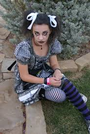 Rag Doll Halloween Costume Gothic Rag Doll Costume Daughter