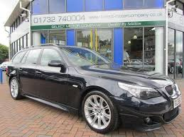 used bmw 5 series estate for sale used bmw 5 series 2006 petrol 525i m sport estate black automatic