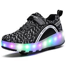 light up roller skate wheels amazon com vmate led light up roller skate shoes blink double wheel