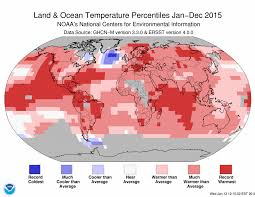 temperature map odds are overwhelming that record heat due to climate change