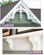 fretwork gingerbread house trim pattern