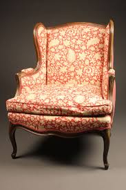 Louis Xv Armchairs Pair Of Wingback Or Wing Chairs