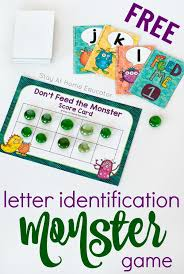 don u0027t feed the monster alphabet game stay at home educator