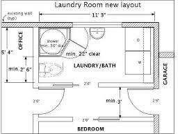 Basement Layout Plans Basement Bathroom Maybe Stack The Washer U0026 Dryer Laundry