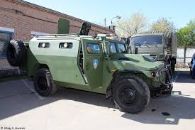 gaz tigr new russian armored vehicle