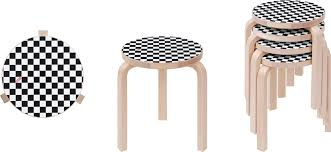 Supreme Furniture Chair Supreme Supreme Artek Aalto Stool 60