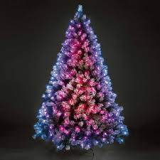 artificial christmas trees with led lights christmas decor ideas