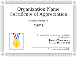 thanksgiving letter templates certificate of appreciation sample template get a free download