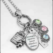 necklace for with children s names fancy ideas children s birthstone necklace personalized sted