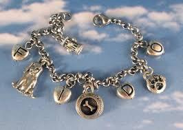 themed charm bracelet 6 charming dog bracelets from etsy
