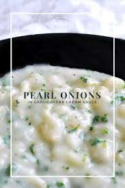 creamed pearl onions home