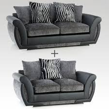 Black Fabric Sofa Shannon Fabric Sofa Sets From House Of Reeves