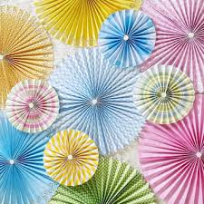 Backdrop Paper Paper Rosettes Paper Pinwheels From Poshsoiree On Etsy