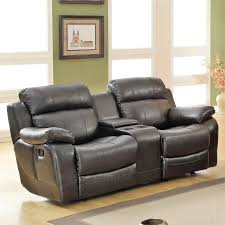Reclining Sofa With Center Console Furniture Reclining Loveseat With Center Console Weston