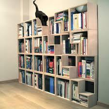 Unique Bookshelf Decorations Appealing Modern Furniture Interior Staircase White