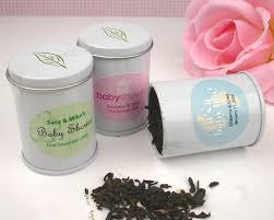 tea favors mini personalized wedding favor tea tins tea time theme wedding