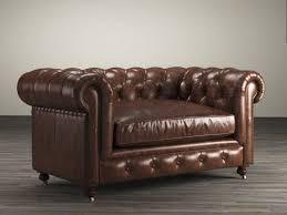 72 Leather Sofa Living Room 72 The Petite Kensington Leather Sofa 3d Model