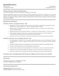 Resume Samples For Banking Sector by Resume Samples Banking Jobs