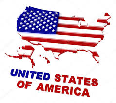 United States Map Clip Art by Usa Map With Flag Clipping Path Included 3d U2014 Stock Photo