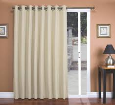 Curtain Door Patio Door Curtains Thecurtainshop 1 2 Mini Blinds Inch Faux