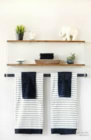bathroom wall shelf ideas diy wall shelves archives shelterness