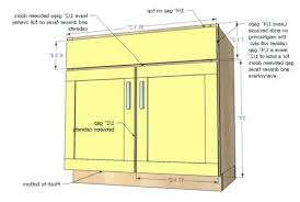 standard kitchen base cabinet sizes standard kitchen base cabinet