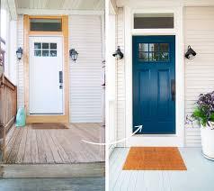 the painted front door