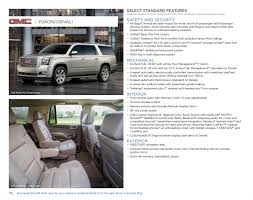 gm 2017 gmc yukon sales brochure