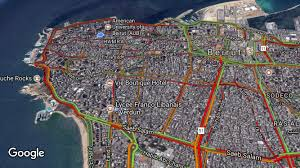 Beirut On Map Beirut Traffic Comes To A Standstill During Head Of State Visit